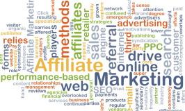 Forskjellige typer affiliate markedsføring