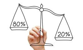 Bli kjent med 80/20-regelen (Paretos prinsipp)