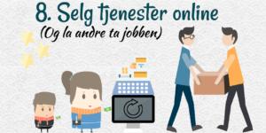 Selg tjenester online