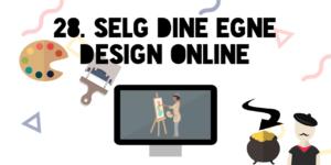 Selg dine egne design online